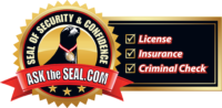 Suncoast Roof Cleaning Seal of Security logo on website